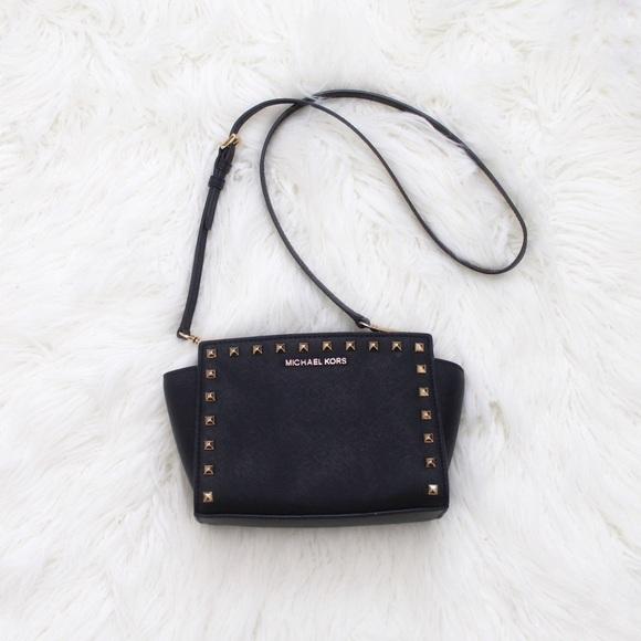 MICHAEL Michael Kors Handbags - Michael Kors | Selma Studded Crossbody Bag
